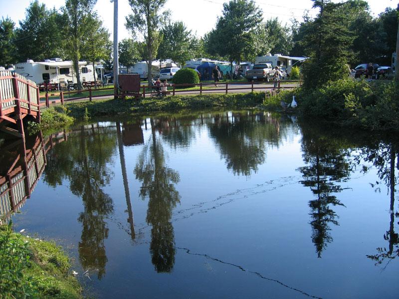 Les campings s'en tirent plutôt bien dans la MRC de L'Islet