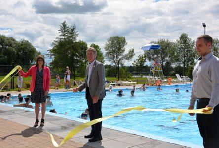 Montmagny: la nouvelle piscine extérieure est inaugurée
