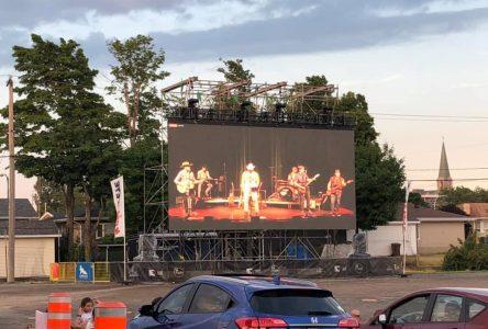 Belles soirées au ciné-parc temporaire de Montmagny