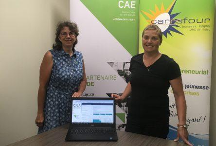 Dévoilement de l'application Web des jeunes leaders d'affaires dans la MRC de L'Islet