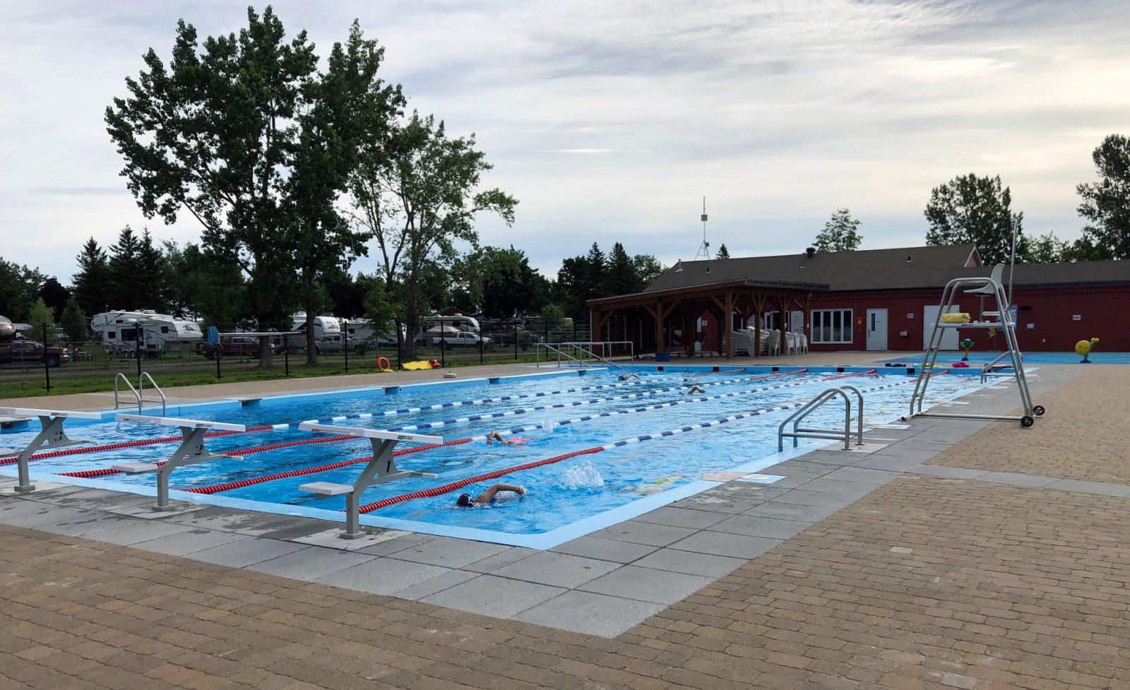 Réouverture de la piscine extérieure Pointe-aux-Oies
