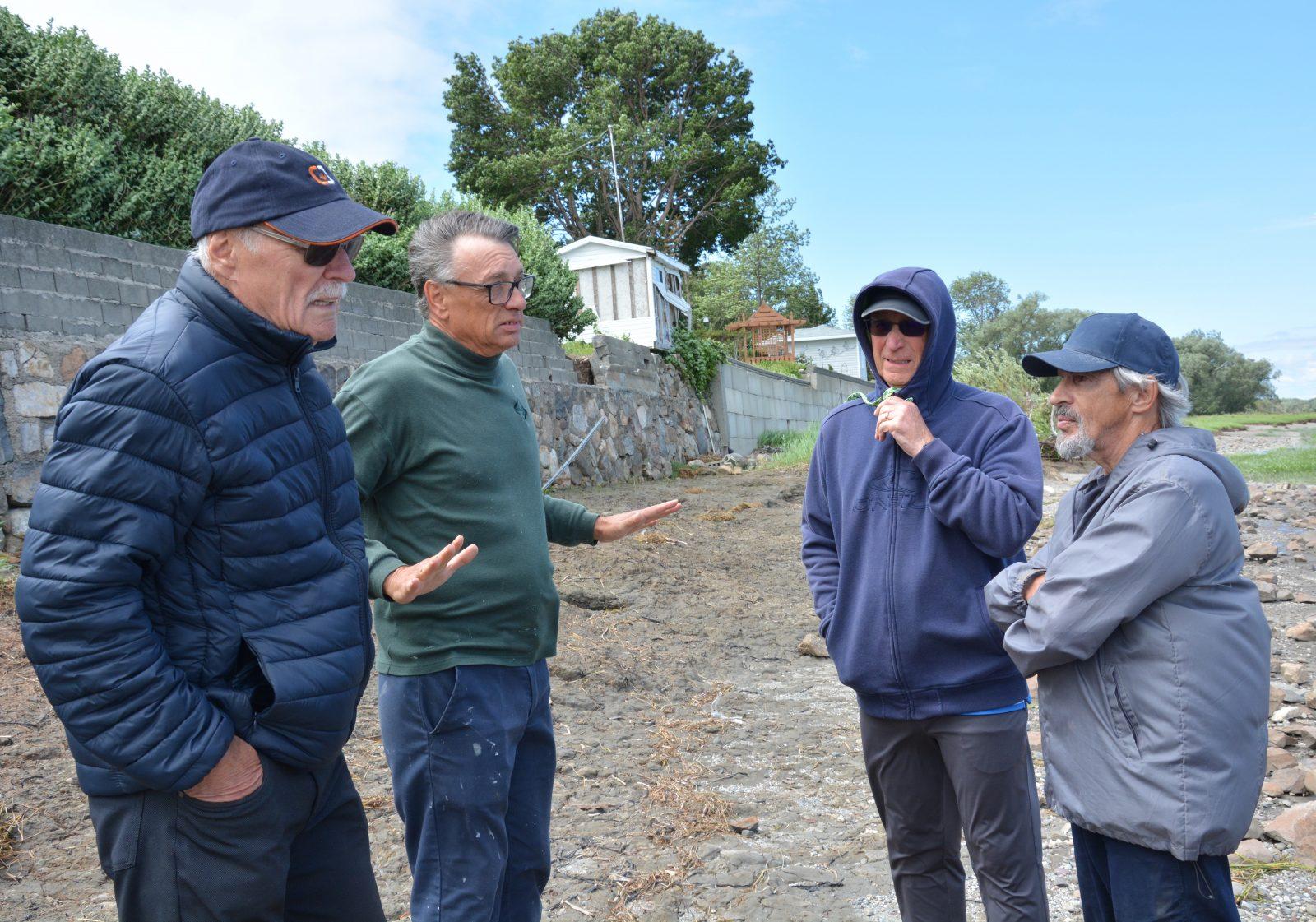 Montmagny: l'accélération de l'érosion inquiète les résidents de la rue des Écores
