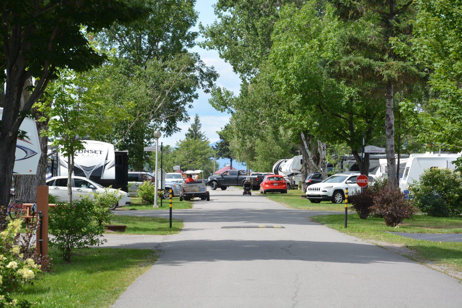 Le camping Pointe-aux-Oies plus achalandé que l'an dernier