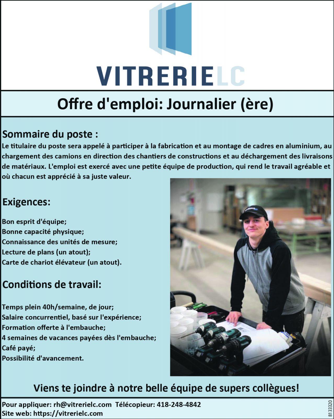 Journalier(ère)