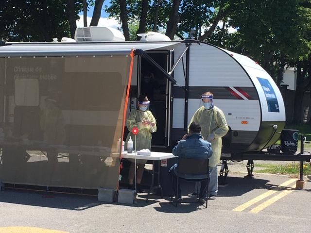 La clinique de dépistage mobile sans rendez-vous se déplace dans les MRC de Montmagny et de L'Islet