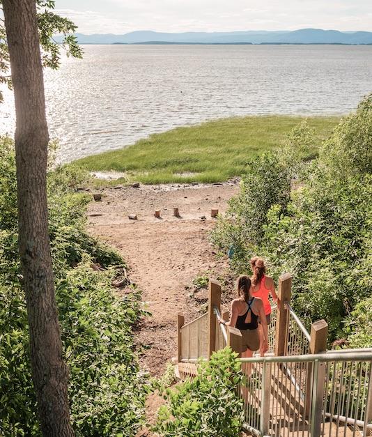 Une nouvelle aire de détente à découvrir à la Pointe-aux-Oies de Montmagny