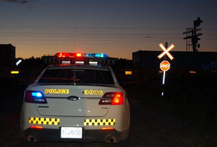 Collision fatale avec un train à Sainte-Louise
