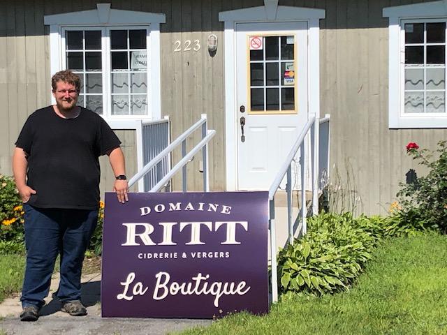 Cap-Saint-Ignace: l'ancien bureau touristique est converti en boutique