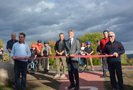 Montmagny inaugure sa nouvelle piste de pumptrack CN