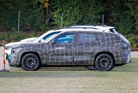 Un X8 en préparation chez BMW