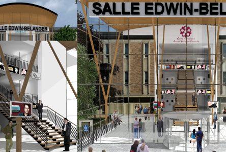 Le projet de la nouvelle Salle Edwin-Bélanger dévoilé
