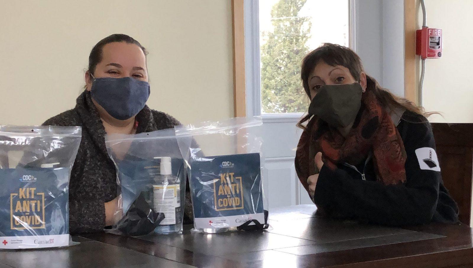 Le MÉHA de St-Pamphile distribue des kits « anti-Covid » gratuitement.