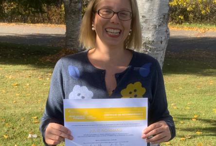 Une enseignante de Montmagny reconnue pour son engagement par la Fondation Monique-Fitz-Back