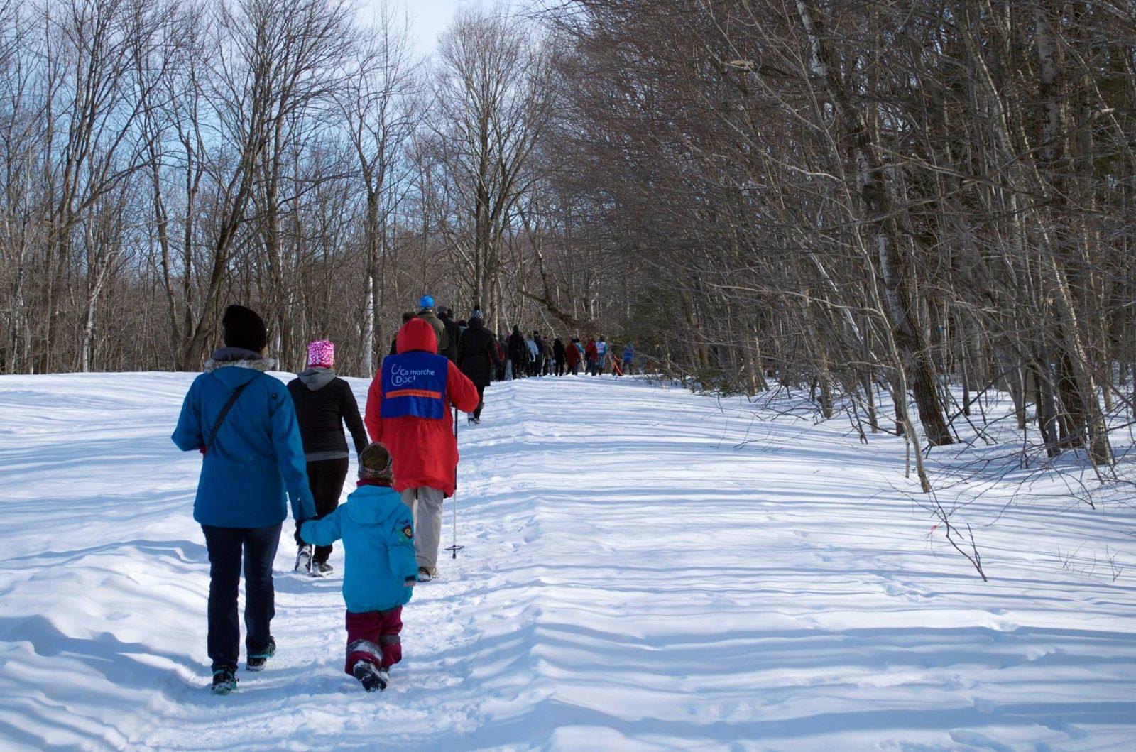 Nouveau répertoire de sentiers hivernaux en Chaudière-Appalaches