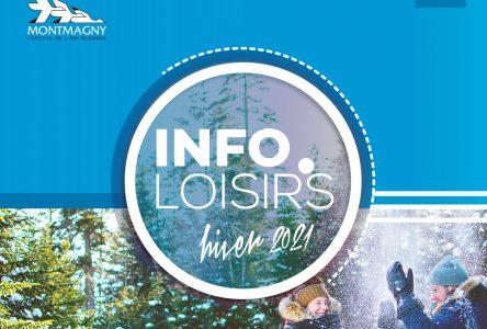 Début des inscriptions aux activités d'Info-loisirs maintenu à demain soir