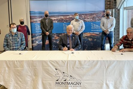 Nouvelle entente entre la Ville de Montmagny et le syndicat des cols blancs et bleus