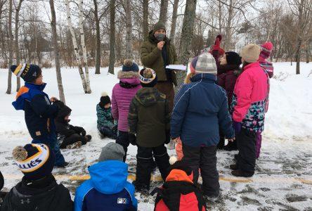 Les élèves de l'école St-Nicolas explorent la biodiversité