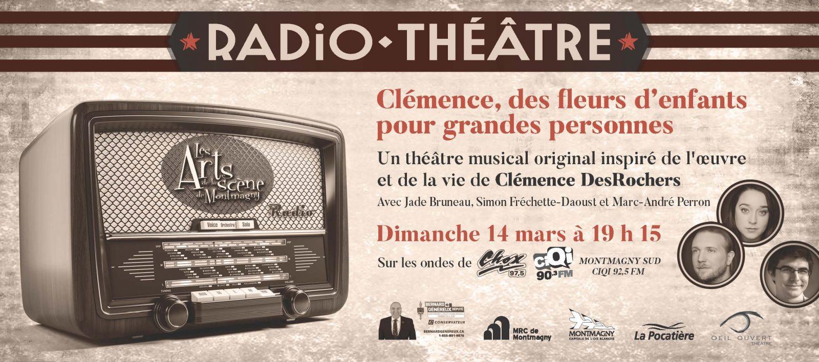 Le radio-théâtre sera de retour le 14 mars
