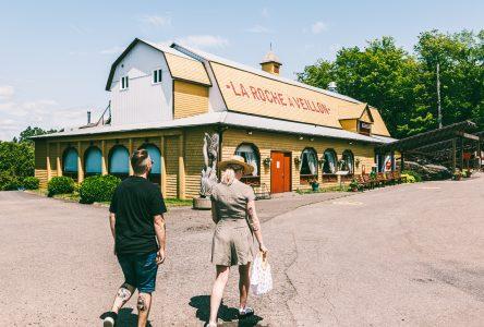 Tradition et cabane à sucre font bon duo à la Roche à Veillon