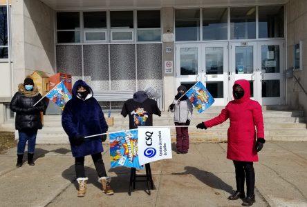 Le Centre d'études collégiales de Montmagny en grève aujourd'hui