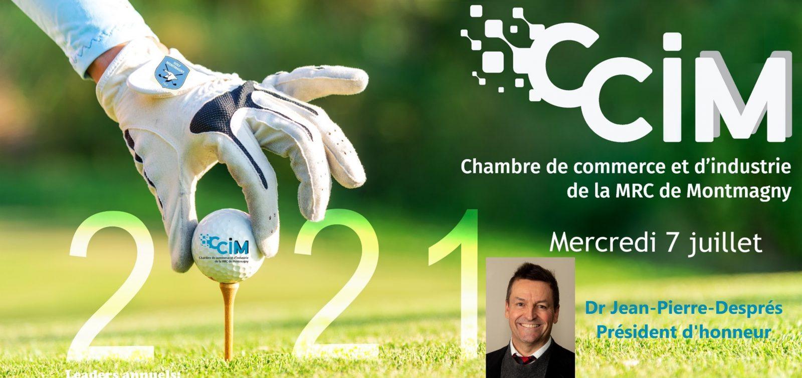 La 27e édition du tournoi de golf annuel de la CCIM prévue en juillet