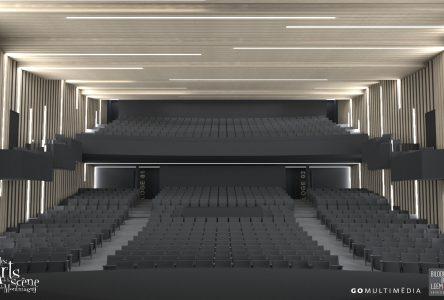 Projet d'agrandissement de la salle Edwin Bélanger : Les esquisses et plans préliminaires dévoilées