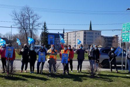 Première journée de grève des professionnels de l'éducation