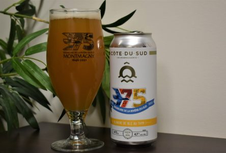 Une nouvelle bière locale aux couleurs des Fêtes du 375e