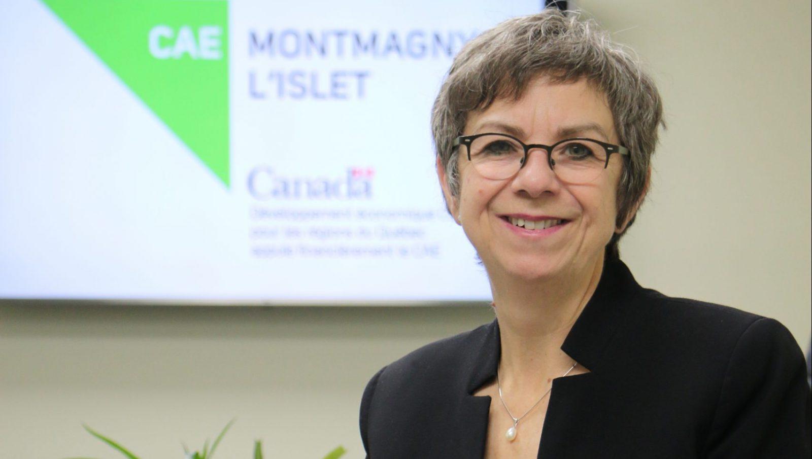 Mireille Thibault devient directrice générale du CAE de Montmagny-L'Islet