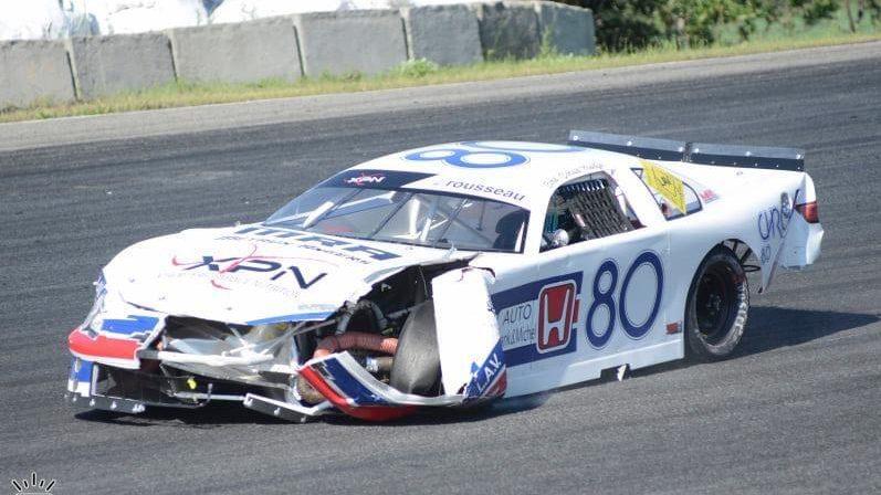 Donald Theetge termine sa carrière en LMS bredouille lors du dernier programme de Stock Car à Montmagny