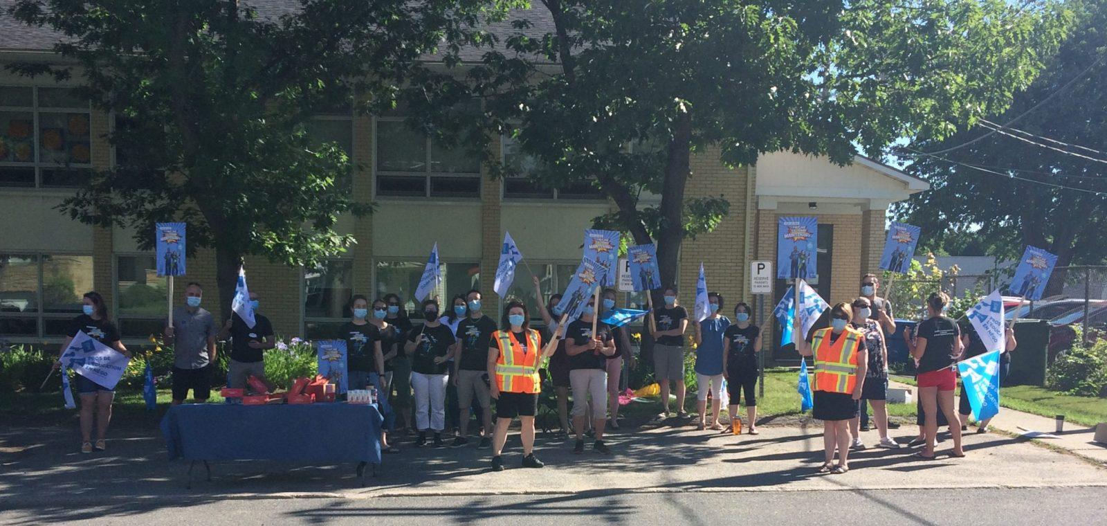 Les professionnels de l'éducation en grève ce matin