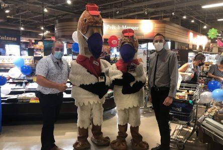 Vente de produits fromagers au profit du Festival de l'Oie Blanche