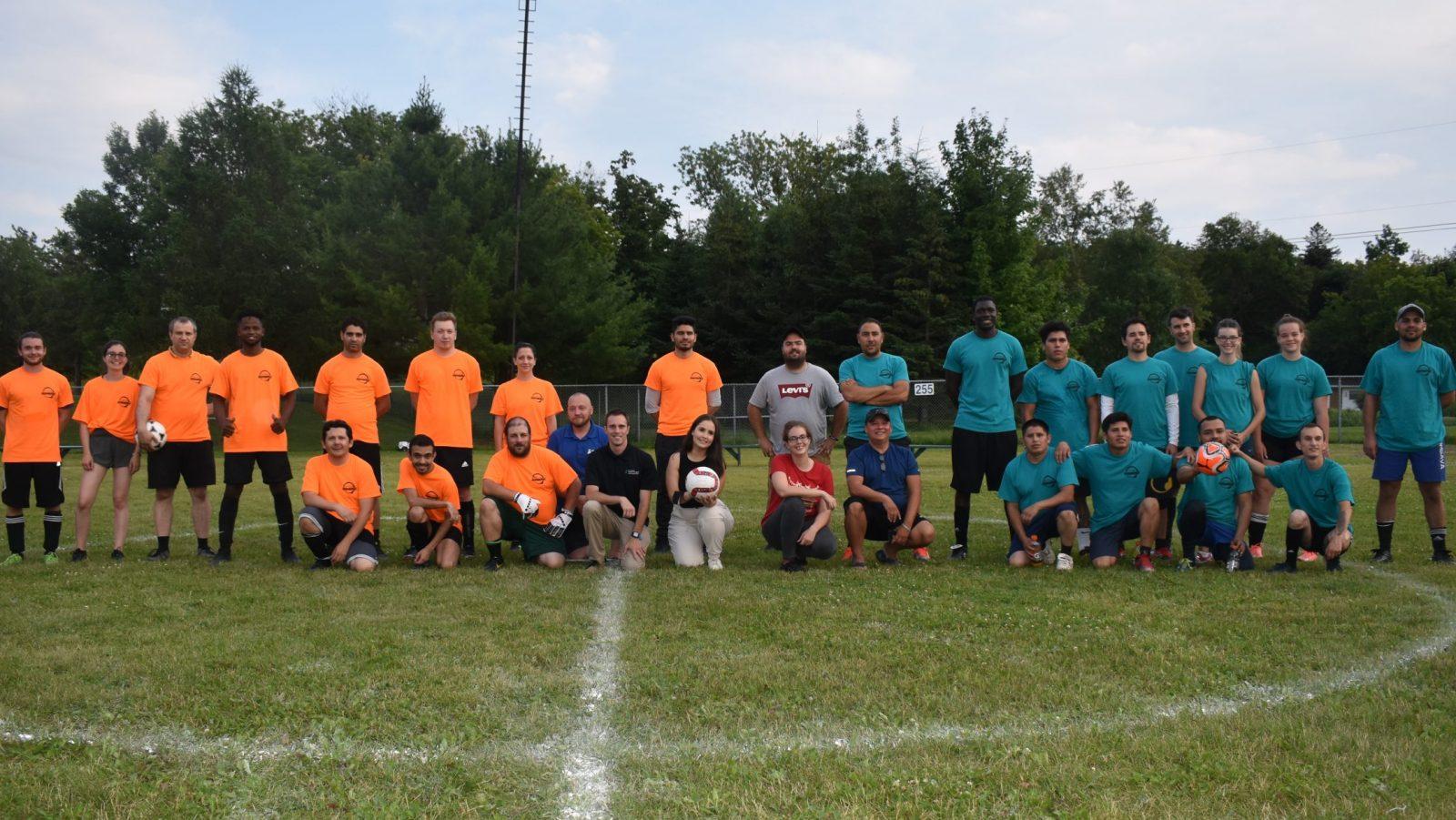 Inauguration de la ligue de soccer interculturelle