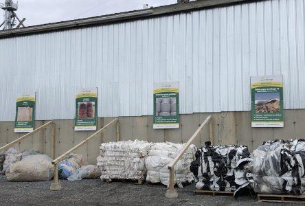Projet pilote pour la récupération du plastique agricole dans la région