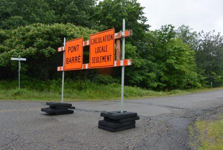 Travaux du pont à L'Islet : fermeture de la voie de gauche dans les deux directions