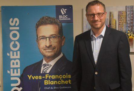 Simon Bérubé aidera la région à innover