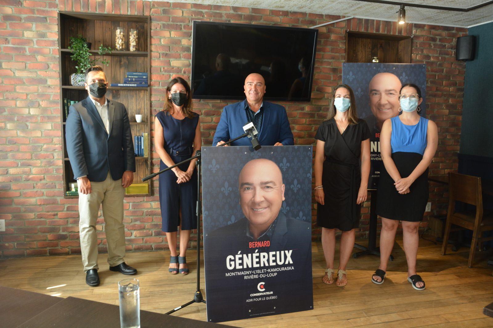 Bernard Généreux lance officiellement sa campagne électorale à Montmagny