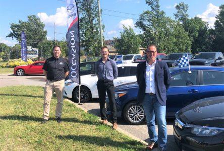 Nouveau centre de véhicules d'occasion à Montmagny