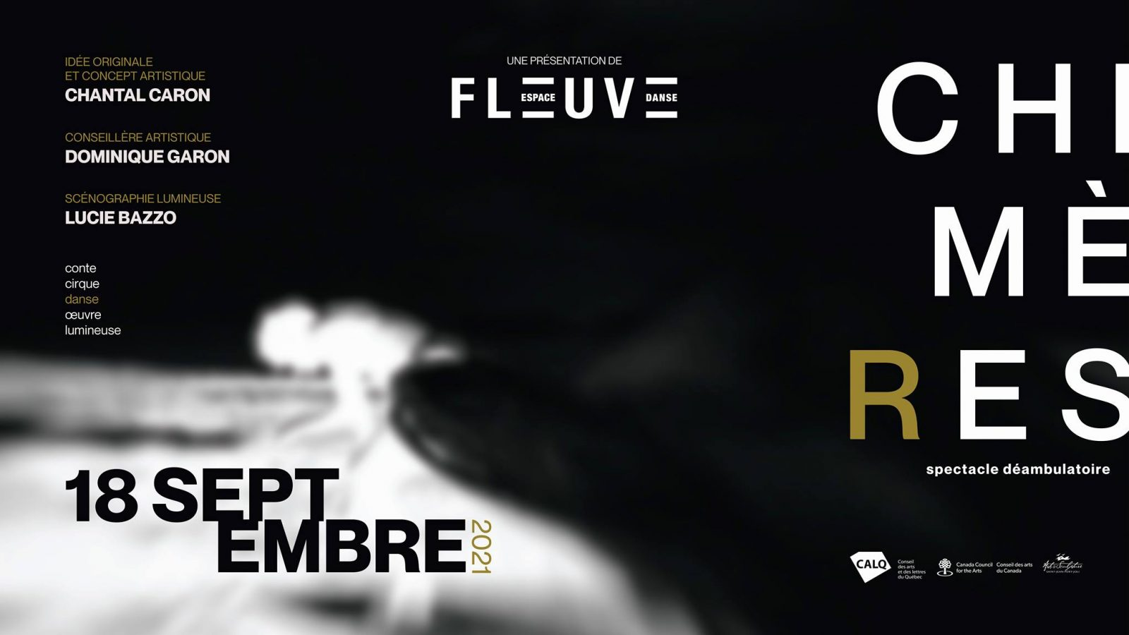 Fleuve| Espace danse présente son nouveau spectacle « Chimères »