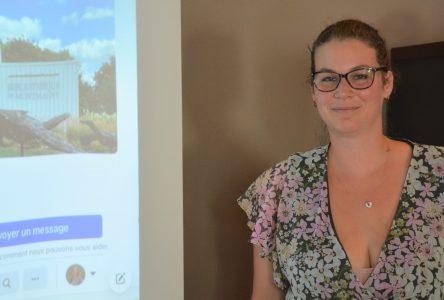 Une campagne électorale virtuelle pour Gabrielle Brisebois