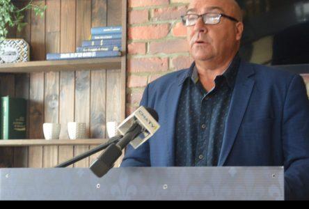 Bernard Généreux expose différents enjeux aux électeurs de la région