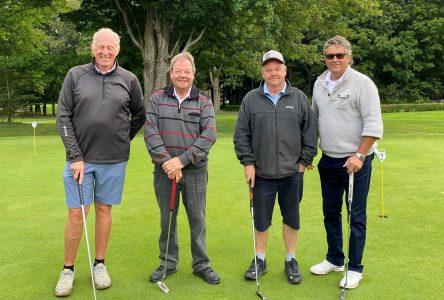 Tournoi de golf de la Fondation de l'Hôtel-Dieu : 12 300$ amassés