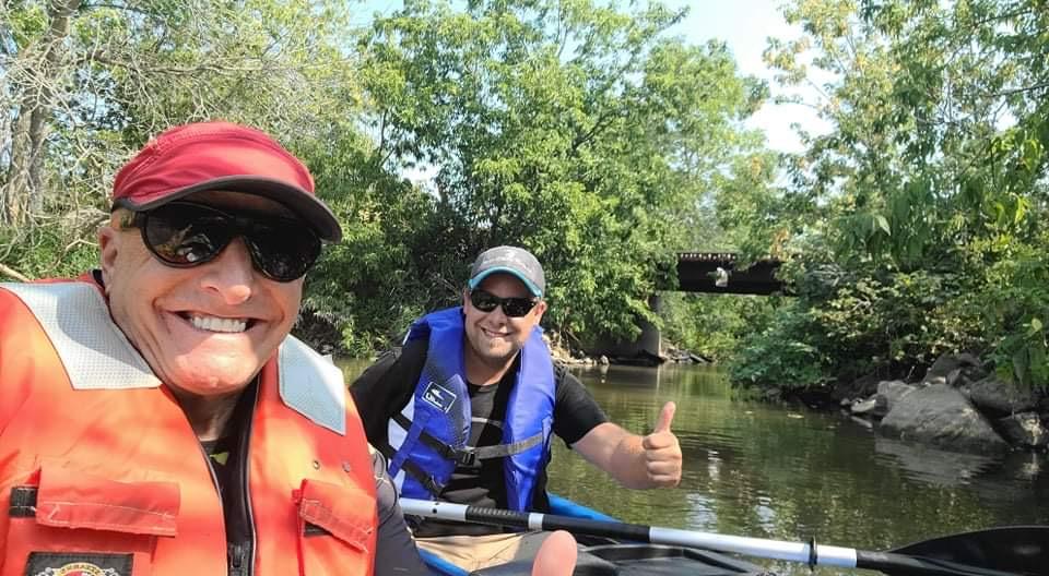 Activité de kayak pour la Fondation-Jeunesse de la Côte-Sud