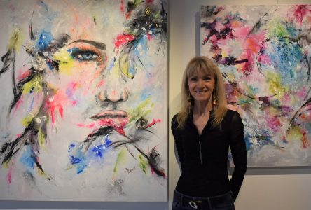 L'artiste peintre Céline Pellerin expose à Montmagny