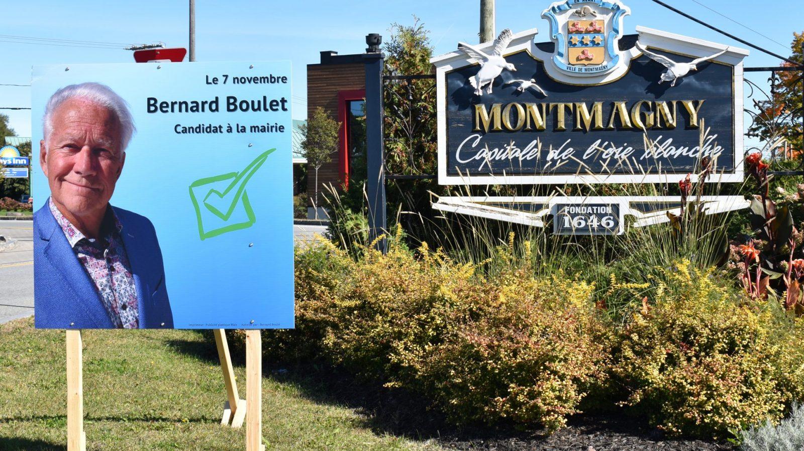 Bernard Boulet a de grands projets pour Montmagny