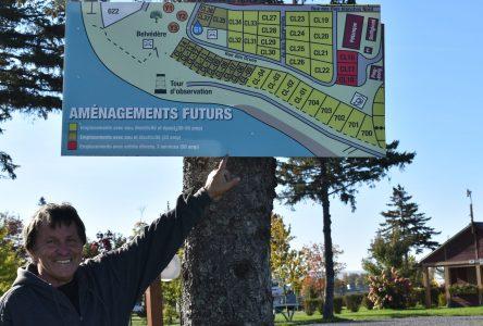 Environ 650 000$ investis au Camping Pointes-aux-Oies