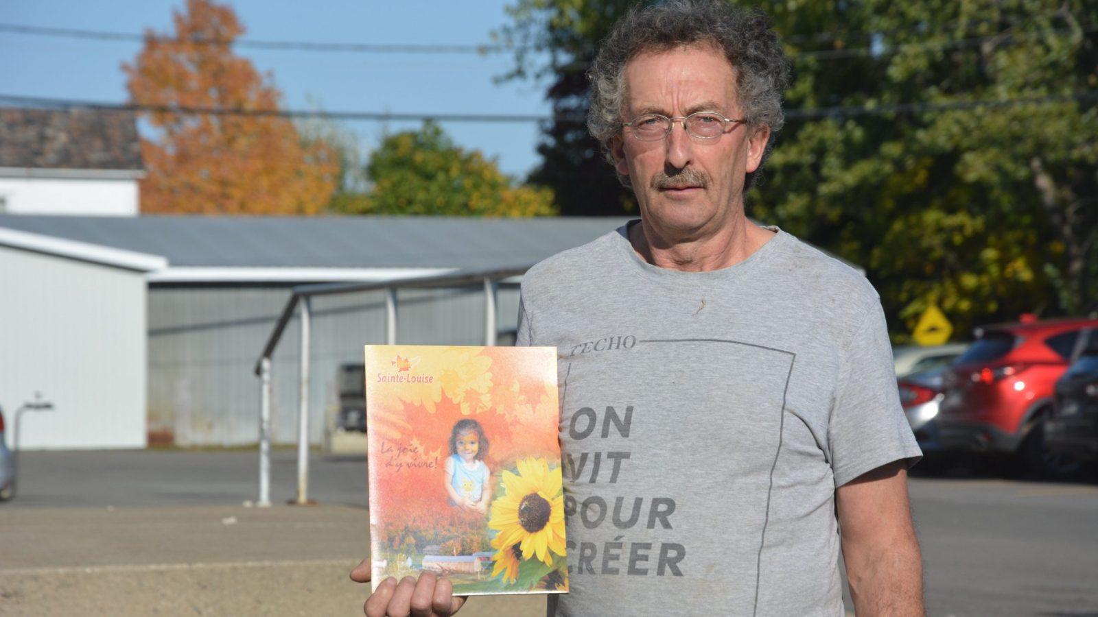 Clément Leclerc veut apporter du changement à Sainte-Louise