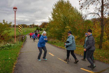 Un succès pour La Grande marche à Montmagny
