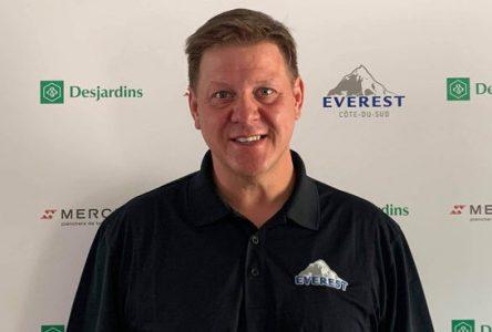 Steve Cantin quitte L'Everest junior AAA